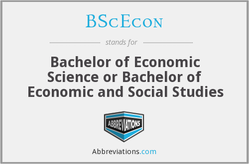 What does BSCECON stand for?