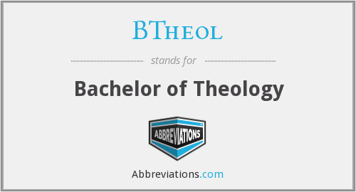 What does BTHEOL stand for?