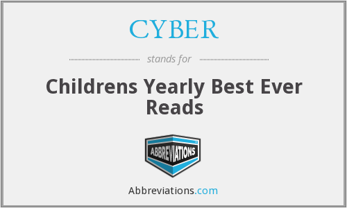 CYBER - Childrens Yearly Best Ever Reads