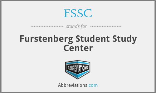 FSSC - Furstenberg Student Study Center