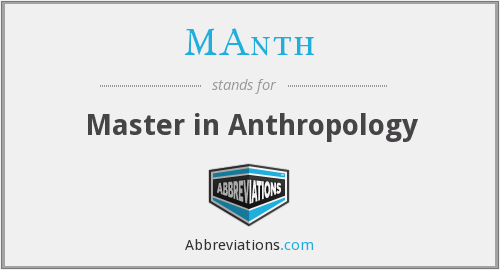 What does MANTH stand for?