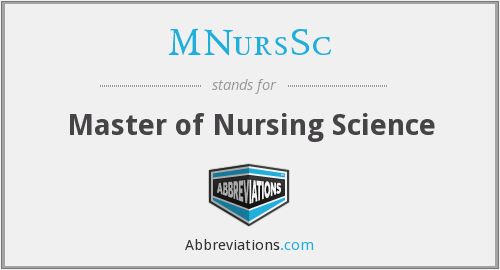 What does MNURSSC stand for?