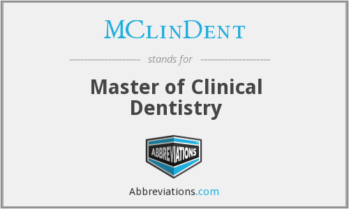 What does MCLINDENT stand for?