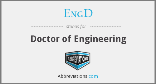 What does ENGD stand for?