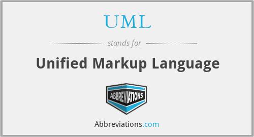 UML - Unified Markup Language