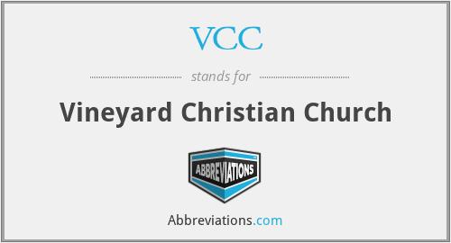 VCC - Vineyard Christian Church