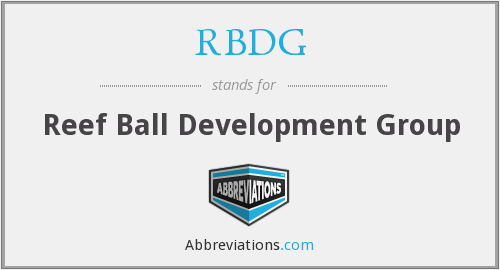 RBDG - Reef Ball Development Group