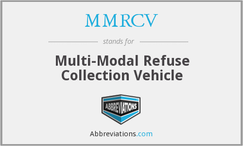 What does MMRCV stand for?
