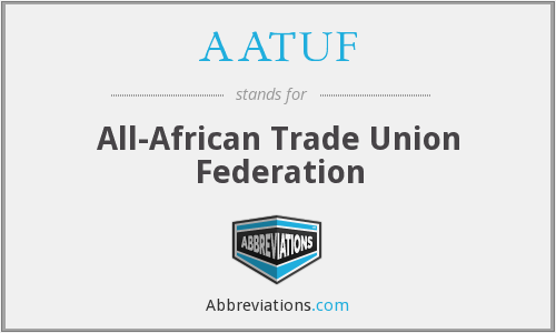 What does AATUF stand for?