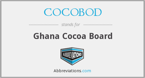 What does COCOBOD stand for?