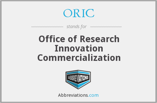 What does ORIC stand for?