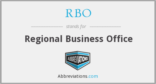 RBO - Regional Business Office