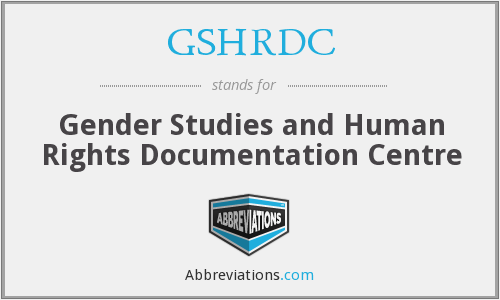 What does GSHRDC stand for?