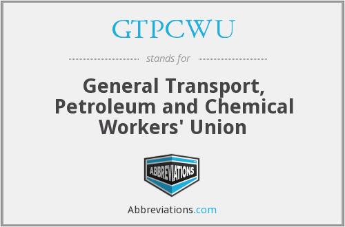 What does GTPCWU stand for?