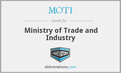 What does MOTI stand for?