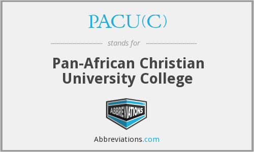 PACU(C) - Pan-African Christian University College