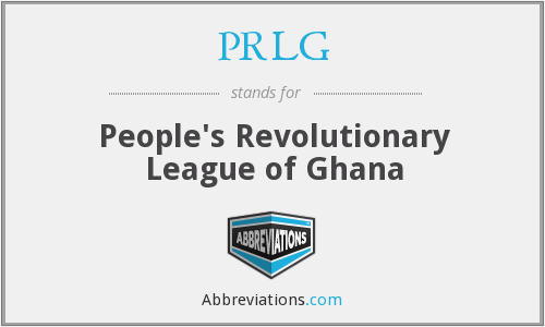 What does PRLG stand for?