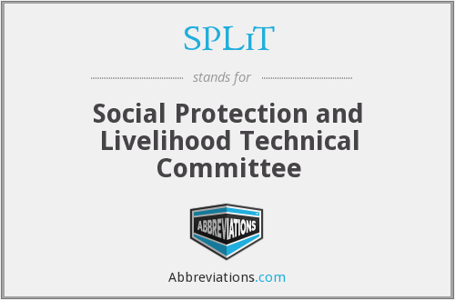 SPLiT - Social Protection and Livelihood Technical Committee