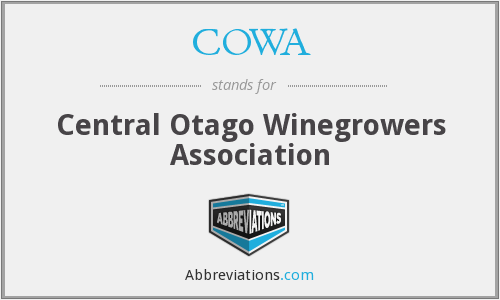 What does COWA stand for?