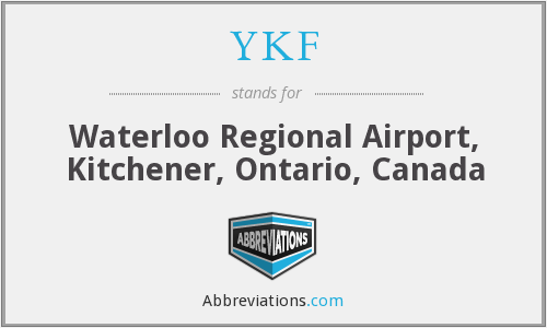 What is the abbreviation for Waterloo Regional Airport, Kitchener ...