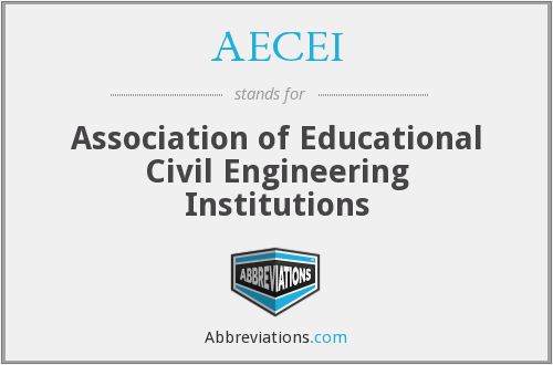 What does AECEI stand for?
