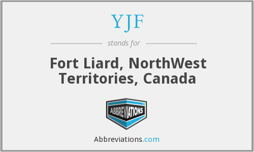YJF - Fort Liard, NorthWest Territories, Canada