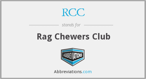 RCC - Rag Chewers Club