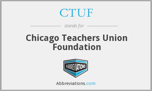 What does CTUF stand for?