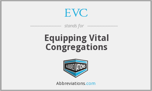 EVC - Equipping Vital Congregations