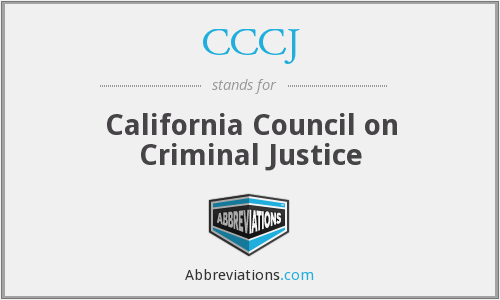 What does CCCJ stand for?