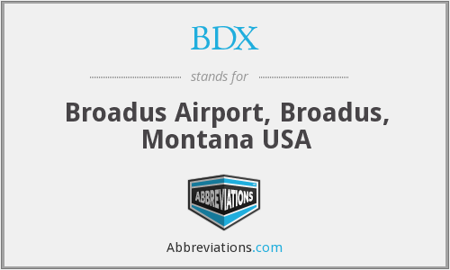 What does BDX stand for?