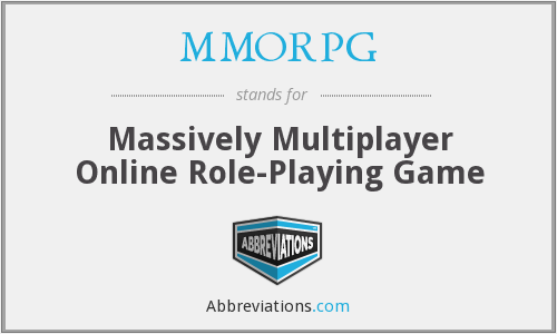 massively multiplayer online role playing games A distributed architecture for massive multiplayer online role-playing games marios assiotis velin tzanov may 13, 2005 abstract we present an approach to support massively multiplayer online role-playing games using.