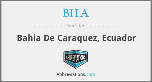 BHA - Bahia De Caraquez, Ecuador