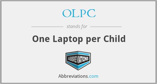 OLPC - One Laptop per Child