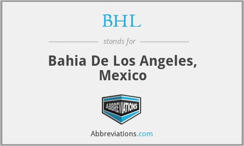 BHL - Bahia De Los Angeles, Mexico