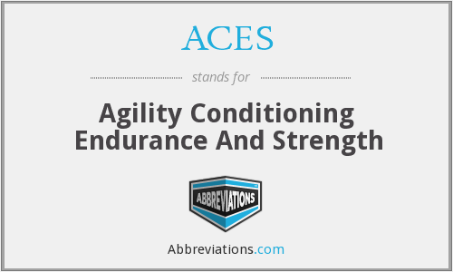ACES - Agility Conditioning Endurance And Strength