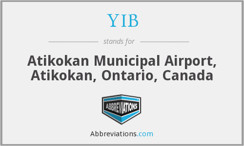 YIB - Atikokan Municipal Airport, Atikokan, Ontario, Canada