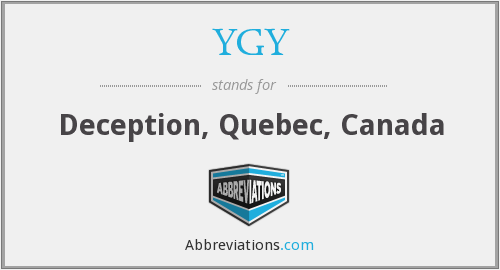 YGY - Deception, Quebec, Canada