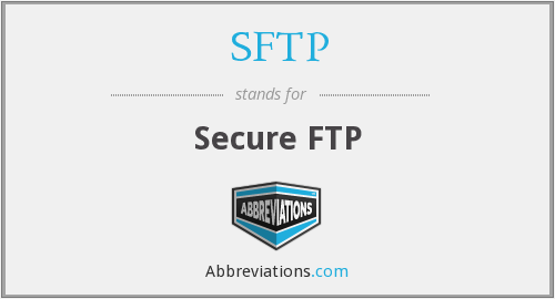 SFTP - Secure FTP