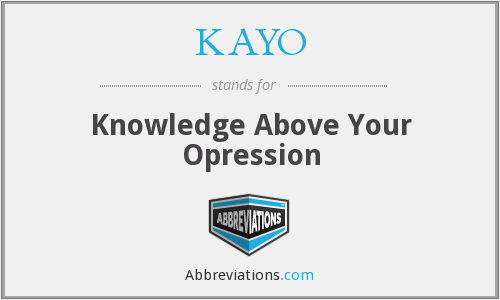 What does KAYO stand for?