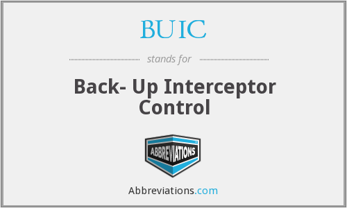 BUIC - Back- Up Interceptor Control