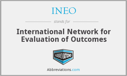 INEO - International Network for Evaluation of Outcomes