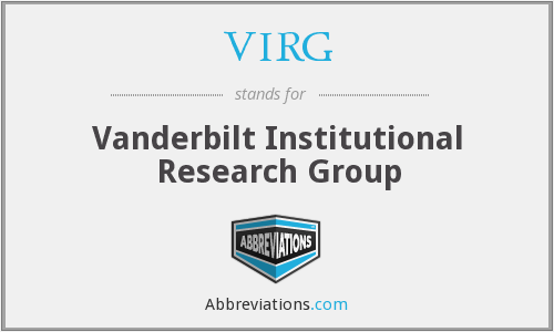 What does VIRG stand for?