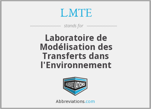 What does LMTE stand for?