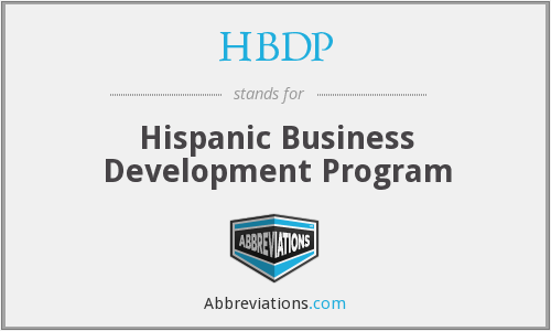 HBDP - Hispanic Business Development Program