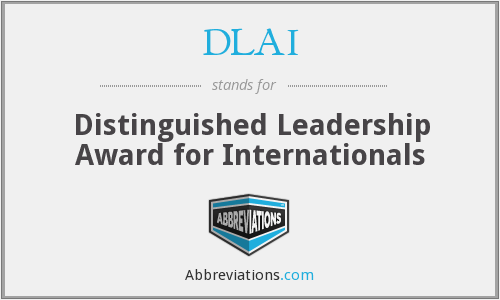 What does DLAI stand for?