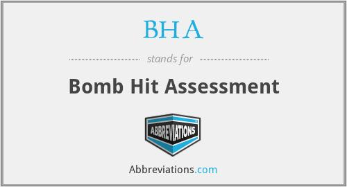 BHA - Bomb Hit Assessment