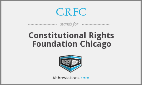 CRFC - Constitutional Rights Foundation Chicago