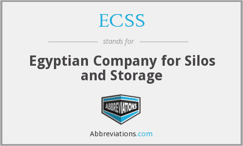 ECSS - Egyptian Company for Silos and Storage