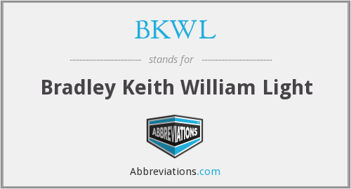 What does BKWL stand for?